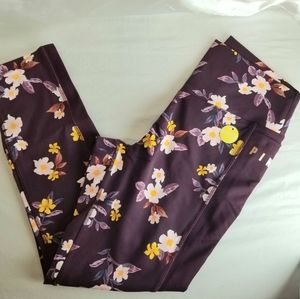 PINK Victoria's Secret Floral Ultimate Legging New